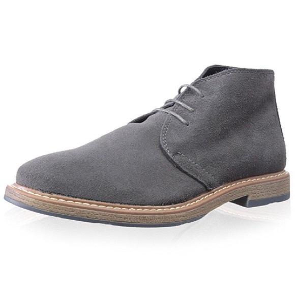 3594b316a1a59e Joseph Abboud Shoes | Thomas Grey Suede Chukka Boots | Poshmark